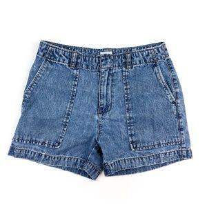 Vintage Calvin Klein Jean Shorts Size 6 Womens